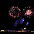 Fireworks Bursts Over Chicago by Andrew Soundarajan