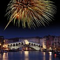 Fireworks Display, Venice by Tony Craddock