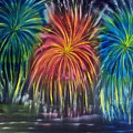 Fireworks Explode by Marie Lamoureaux