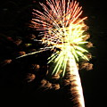 Fireworks From A Boat - 9 by Jeffrey Peterson