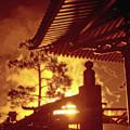 Fireworks, Japan Pavilion, Epcot, Walt Disney World by A Gurmankin