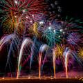 Fireworks Line by Rikk Flohr