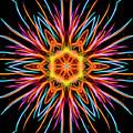 Fireworks Mandala #1 by Yulia Kazansky