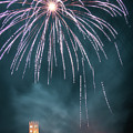 Fireworks Over The Church by Matteo Viviani