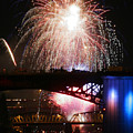 Fireworks Over The River by Keith Dillon