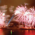 Fireworks Red by Steve Somerville