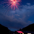 Fireworks Show In The Mountains by James BO  Insogna