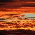 Firey Sunset by Sabrina L Ryan