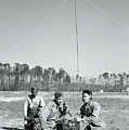 First African American United States Marines 1942 by Daniel Hagerman