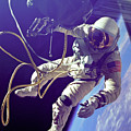 First American Walking In Space, Edward by Nasa