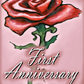 First Anniversary by Kevin Middleton