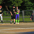 First Base Coach by Winston Hudson