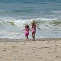 First Day At Beach by John Loyd Rushing