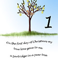 First Day Of Christmas by Lois Boyce