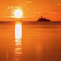 First Key West Sunrise 2018 C by Bob Slitzan
