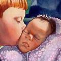 First Kiss by Gail Zavala
