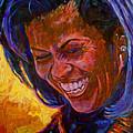 First Lady Michele Obama by David Lloyd Glover
