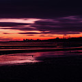 First Light At Granton, From Cramond by Colin Mackay