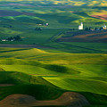 First Light On The Palouse by Mike  Dawson