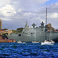 First Peak At Australia's Newest Warship by Miroslava Jurcik