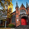 First Presbyterian Church In Birmingham Alabama by Michael Thomas