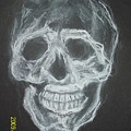 First Skull Work by Nancy Caccioppo