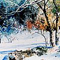 First Snowfall by Hanne Lore Koehler