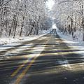 First Snowfall  by Ricky L Jones
