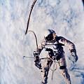 First Spacewalk by Nasa