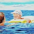 First Swimming - Nadar Primero by Rezzan Erguvan-Onal