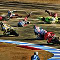 First Turn Crash by Blake Richards