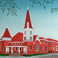 First United Methodist Church  Terrell Tx by Darren Yarborough