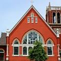 First United Methodist Church Tupelo Ms by Robert Wilder Jr