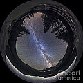 Fish-eye Lens Panorama Of Milky Way by Alan Dyer