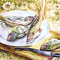 Fish For Dinner. by Liliya Chernaya