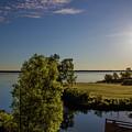 Fish Hook Lake Morning by Michael Johnk