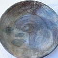 Fish -in -a -pond Plate by Julia Van Dine