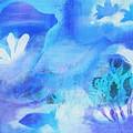 Fish In Blue by HelenaP Art
