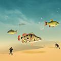 Fish Life  by Mark Ashkenazi