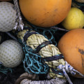 Fish Netting And Floats 0129 by Bob Neiman