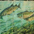 Fish On The Wall 2 by Vesna Antic