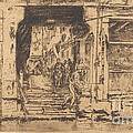Fish-shop, Venice by James Mcneill Whistler