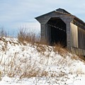 Fisher Covered Railroad Bridge by James Walsh