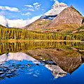 Fishercap Blue Reflections by Adam Jewell