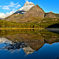 Fishercap Snowcap Reflections by Adam Jewell