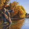 Fisherman by Anthony J Padgett