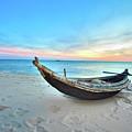 Fisherman Boat by MotHaiBaPhoto Prints