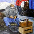 fisherman from Mola di Bari by Leonardo Ruggieri