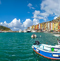 Fisherman Town Of Portovenere, Liguria, Italy by JR Photography