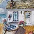 Fisherman's Cottage by P Maure Bausch